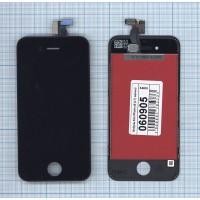 Дисплей iPhone 4S в сборе с тачскрином (LT) черный