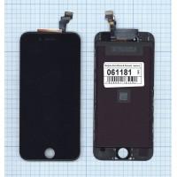 Дисплей iPhone 6 в сборе с тачскрином (Hancai) черный