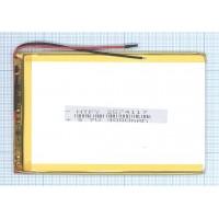 Аккумулятор Li-Pol (батарея) 2.5*74*117мм2pin 3.7V/4000mAh