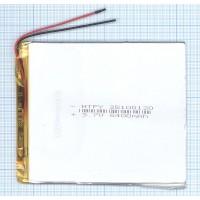 Аккумулятор Li-Pol (батарея) 2.5*100*120мм2pin 3.7V/5400mAh
