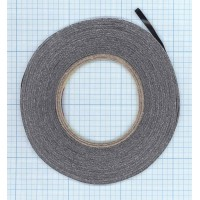 Скотч 3M двухсторонний для монтажа тачскринов, черный, ширина 5мм, длина 55м ORIGINAL