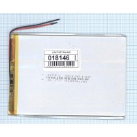 Аккумулятор Li-Pol (батарея) 3*100*130мм 2pin 3.7V/4000mAh
